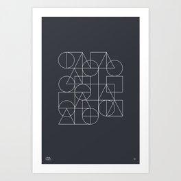 Relatives 19 Art Print