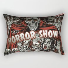 The Horror Show Rectangular Pillow
