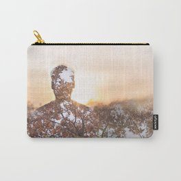 sunset portrait Carry-All Pouch