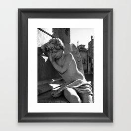 Angel Aregentina Framed Art Print