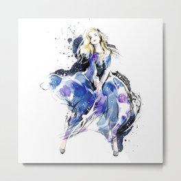 Fashion Painting #4 Metal Print