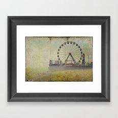 Seaside Heights New Jersey Framed Art Print