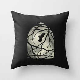 my heart; my home; my cage Throw Pillow