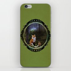A Forest Fox iPhone & iPod Skin