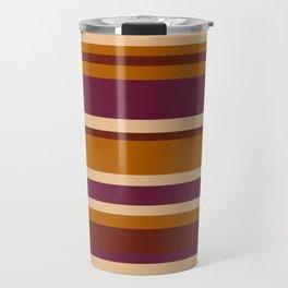 90's Stripes Travel Mug