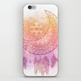 Moon And Eye iPhone Skin
