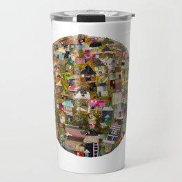 dreaming village Travel Mug