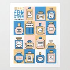 Parks and Rec: Dennis Feinstein Scents Art Print