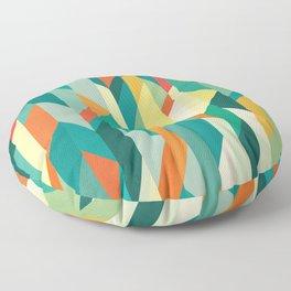 Broken Ocean Floor Pillow