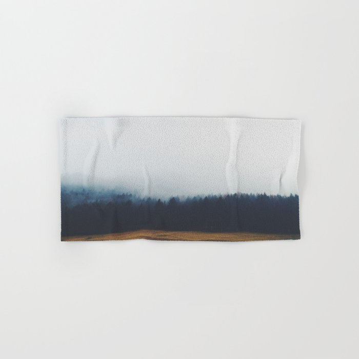 Dreary Landscape forest Hand & Bath Towel