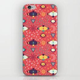 Cosmos Pattern iPhone Skin