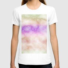 Rainbow marble texture 4 T-shirt