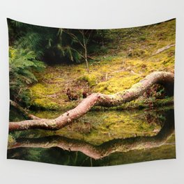Reflections on the pond Wall Tapestry