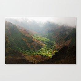 Waimea Canvas Print
