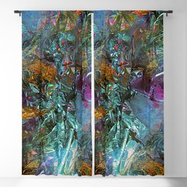 Crystal Foil Decoration Blackout Curtain