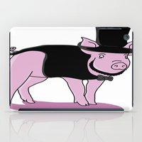 lincoln iPad Cases featuring AbraHAM Lincoln by Michael Cotton