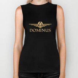Call Me Dominus Biker Tank