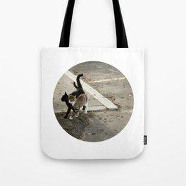 shadow in love Tote Bag
