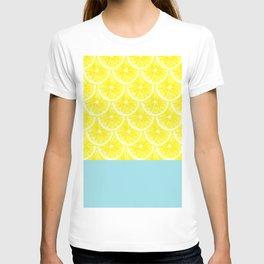 Zesty splice T-shirt