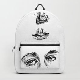 my face (the most important parts) Backpack