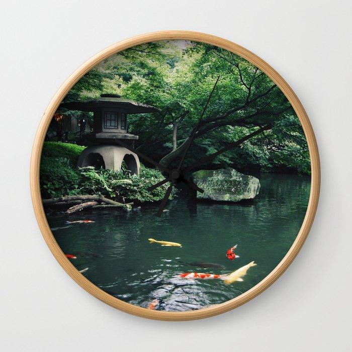 Happoen Garden Wall Clock