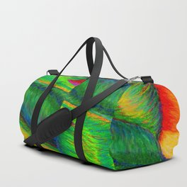 Zig When You Can Zag Duffle Bag