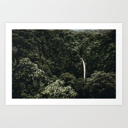 Waterfall / Costa Rica Art Print