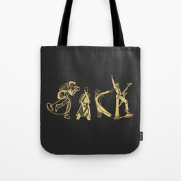AlphaBowie: The David Bowie Typeface Tote Bag