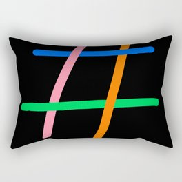 tag Rectangular Pillow