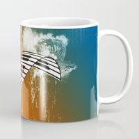piano Mugs featuring Piano by nicky2342