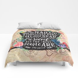 Mad Hatter Comforters