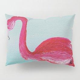 Frank the Flamingo Pillow Sham