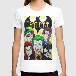 Bat Cave Villain Comic Book Poster T-shirt