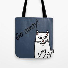 Naughty Cat Tote Bag