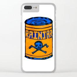 RainJar - Pop Art Print Clear iPhone Case