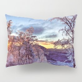 Icy Forest Awakens Pillow Sham