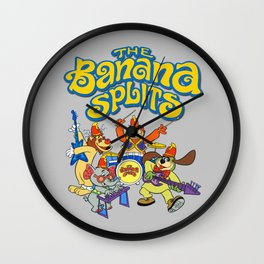 The Banana Splits Wall Clock