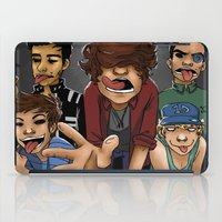 1d iPad Cases featuring Gorillaz 1D by cargline