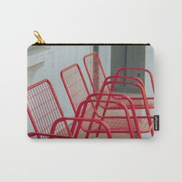 Red Chairs Carry-All Pouch