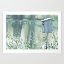 {Swallow House} Art Print