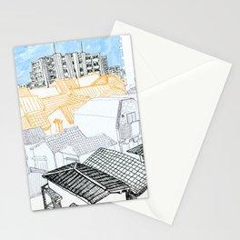 Tokyo landscape Stationery Cards