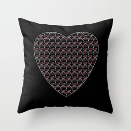 Love or Amor V All Print Over Shirts Throw Pillow
