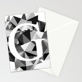G for Stationery Cards