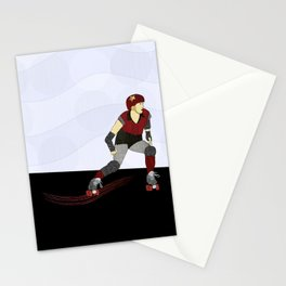 Roller Derby Stationery Cards