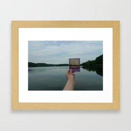 Constructing Landscapes I Framed Art Print