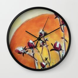 pastel1 Wall Clock