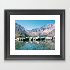 Convict Lake Circa 2013 Framed Art Print