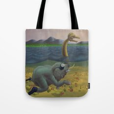 The truth of Loch Ness Tote Bag