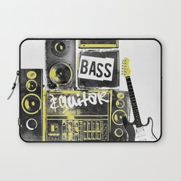 Beats, Bass & Guitar. Laptop Sleeve