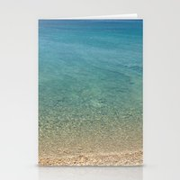greece Stationery Cards featuring GREECE by Deadly Designer